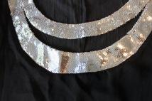 double band neckline