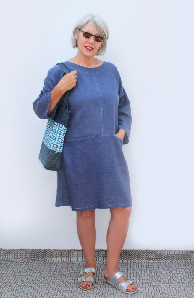 Fiona in Edith tunic