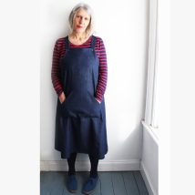 Mildred Pinafore dress
