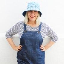 Doris dungarees & Brighton Hat